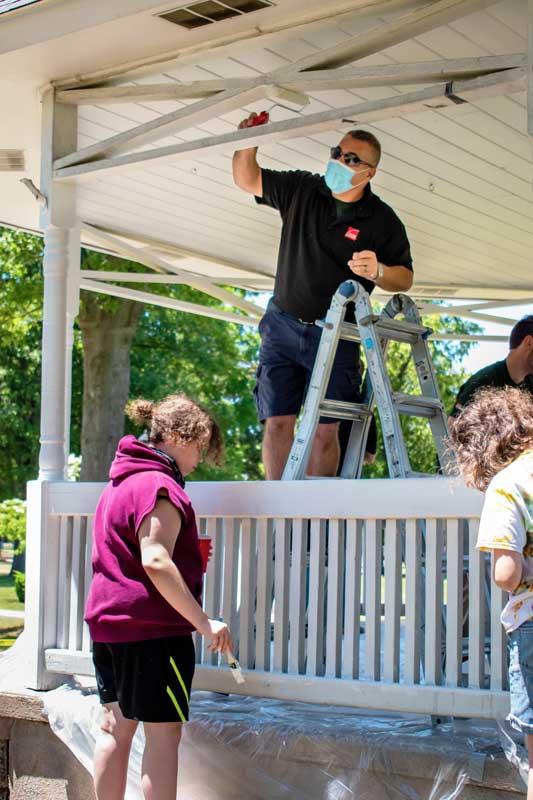 Vista Home Improvement cares about the community
