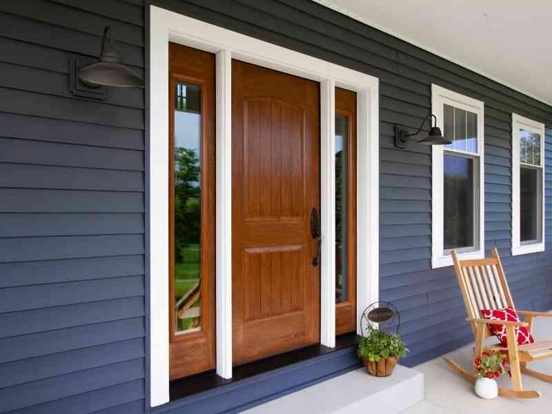 Vista Home Improvement custom entry door