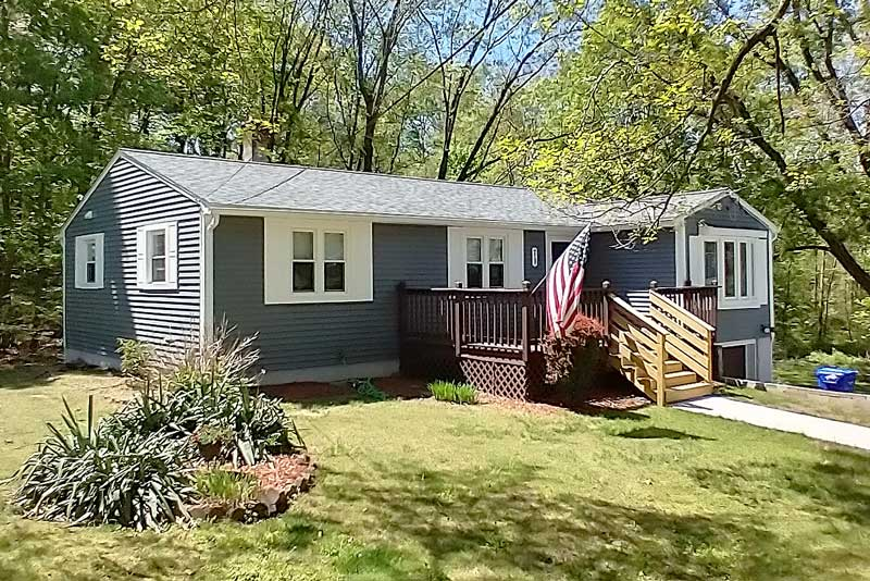 Project in Springfield, MA - roofing, siding, windows, doors and bathroom